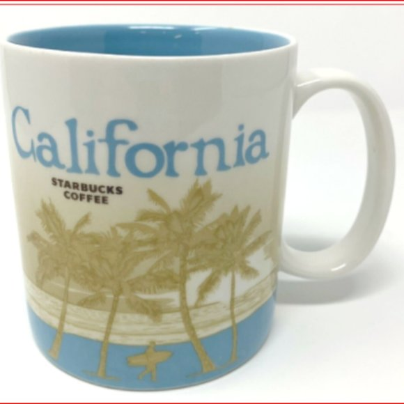 STARBUCKS MUG CALIFORNIA CA COLLECTOR SERIES 16 OZ